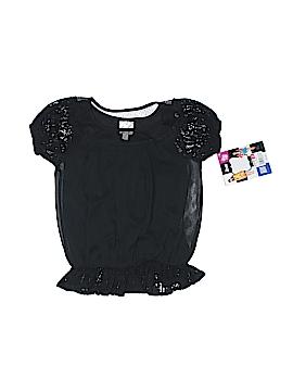 D-Signed Short Sleeve Blouse Size 4 - 5