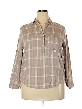 Dainty Hooligan Long Sleeve Button-Down Shirt Size S