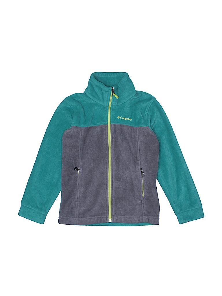 Columbia Boys Fleece Jacket Size 6 - 7