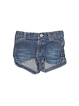 Genuine Kids from Oshkosh Denim Shorts Size 12 mo