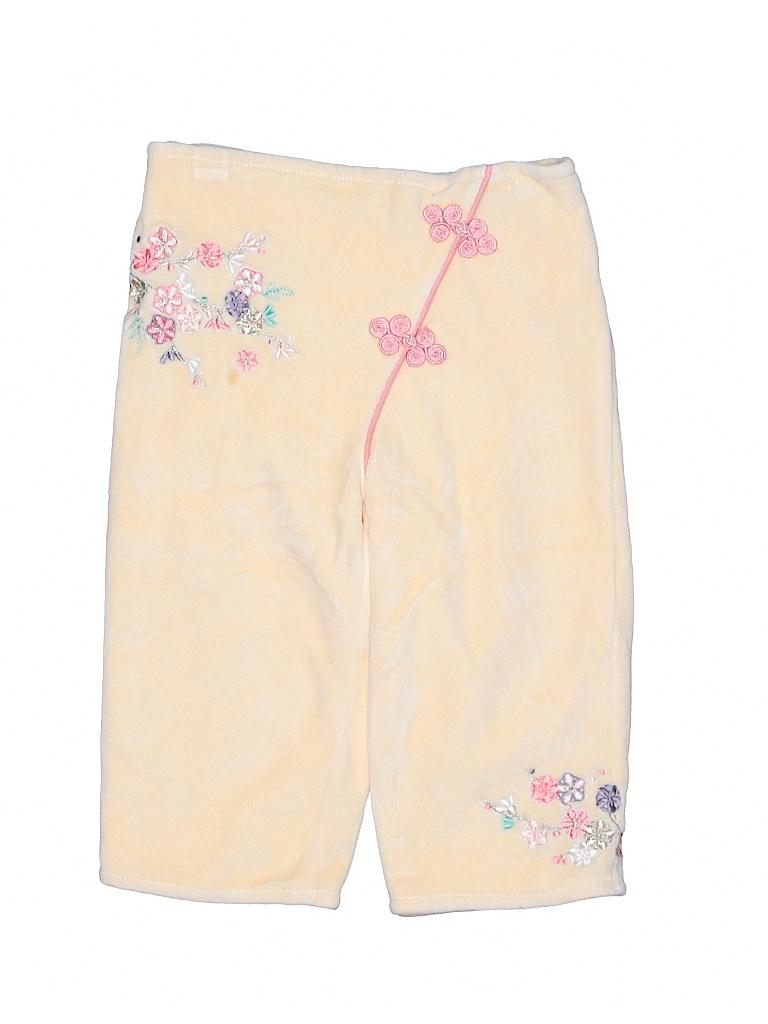 7f32d8e5de6 Macy s Floral Orange Velour Pants Size 18 mo - 40% off
