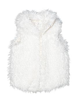 The Children's Place Faux Fur Vest Size M(7/8)
