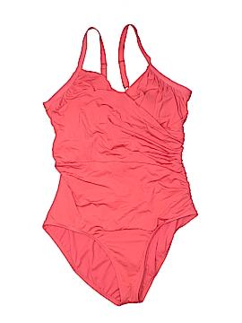 Jantzen One Piece Swimsuit Size 22 (Plus)