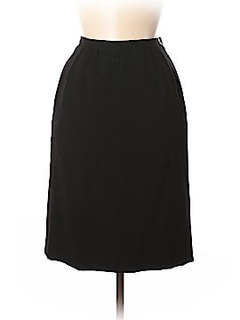 Valentino Miss V Wool Skirt Size 42 (IT)