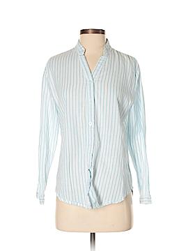 Amaryllis 3/4 Sleeve Button-Down Shirt Size S