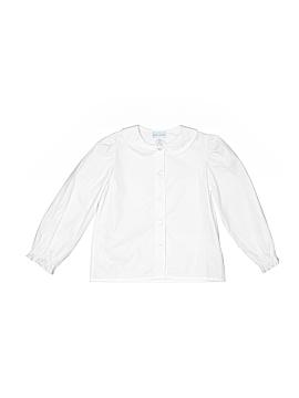 Vive La Fete Long Sleeve Button-Down Shirt Size 6