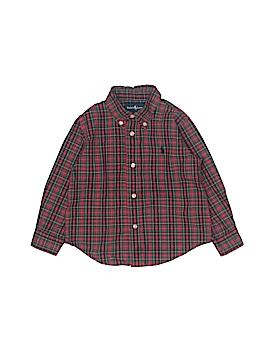 Ralph by Ralph Lauren Long Sleeve Button-Down Shirt Size 24 mo