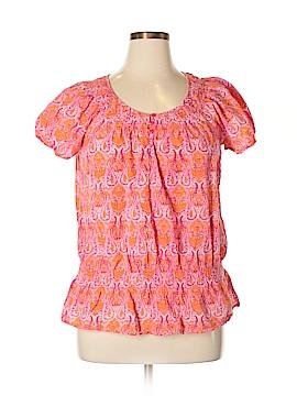 IZOD Short Sleeve Blouse Size XL