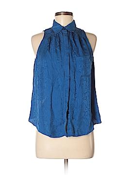 Bebe Sleeveless Silk Top Size 8