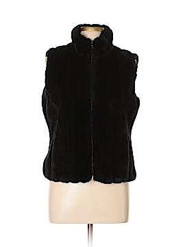 Esprit Faux Fur Jacket Size L