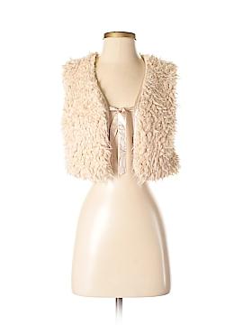Oxford Circus Faux Fur Vest Size S