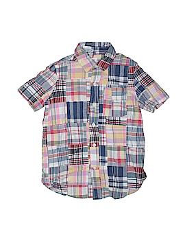 Gap Kids Short Sleeve Button-Down Shirt Size 7