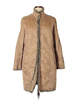 Ruff Hewn Faux Leather Jacket Size XL