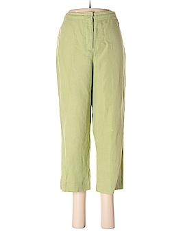 Sigrid Olsen Sport Linen Pants Size 10
