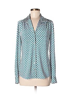 Etcetera Long Sleeve Button-Down Shirt Size 6