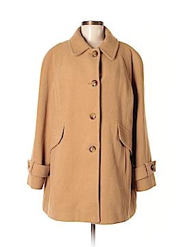 London Fog Wool Coat Size XL