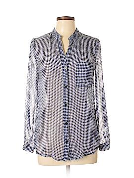 Diane von Furstenberg Long Sleeve Blouse Size 6
