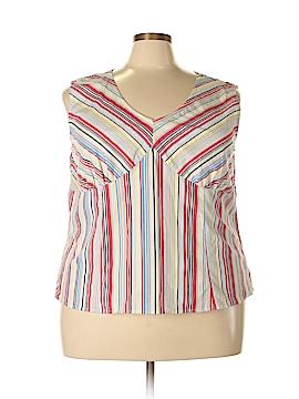 Carolina Colours Sleeveless Blouse Size 14W
