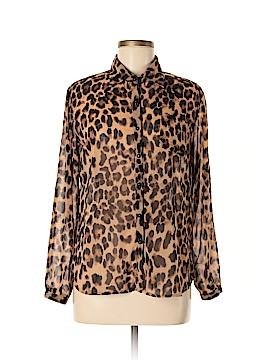 NELLA FANTASIA Long Sleeve Blouse Size M