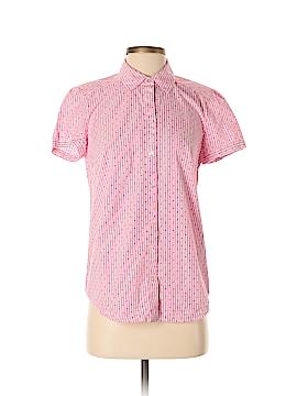 Croft & Barrow Short Sleeve Button-Down Shirt Size S