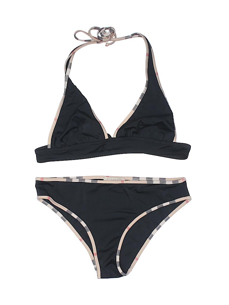 7d9c7a11fa Burberry Print Black Two Piece Swimsuit Size M - 39% off