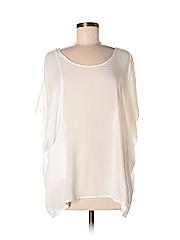 Lush Women Short Sleeve Blouse Size M