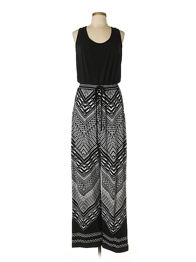 f96ed75e905f Calvin Klein Print Black Jumpsuit Size 14 - 48% off
