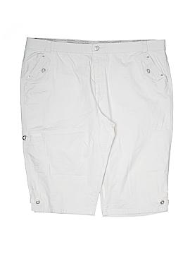 Gloria Vanderbilt Khaki Shorts Size 16w