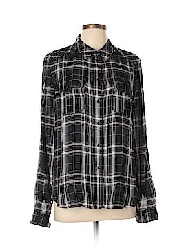 Paige Long Sleeve Button-Down Shirt Size L
