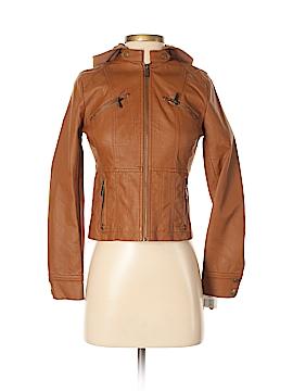 J2 Faux Leather Jacket Size L