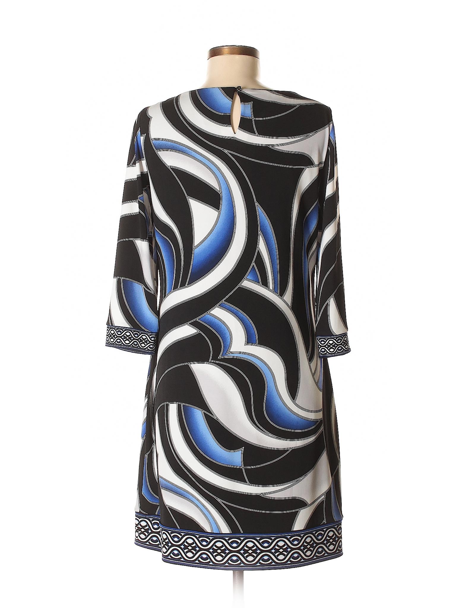 Boutique Black House winter Casual Market Dress White 7qSP80