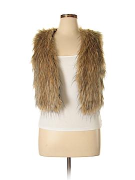 Bell du Jour Faux Fur Vest Size L