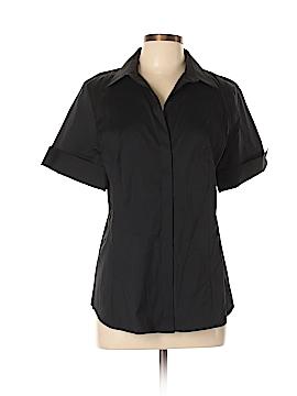 Ann Taylor Short Sleeve Button-Down Shirt Size 7