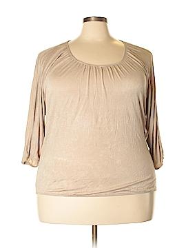 Ashley Stewart Long Sleeve Top Size 20 (Plus)