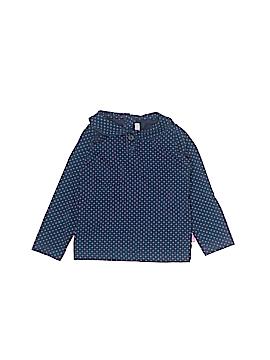 JoJo Maman Bebe Long Sleeve Top Size 12-18 mo