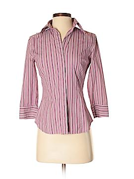 Express Design Studio 3/4 Sleeve Button-Down Shirt Size XS