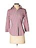 Express Design Studio Women 3/4 Sleeve Button-Down Shirt Size XS