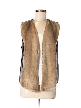 Not Your Daughter's Jeans Faux Fur Vest Size M