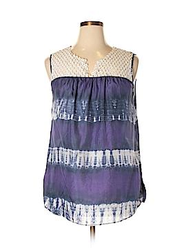 Calypso St. Barth Sleeveless Silk Top Size XL