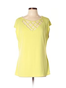 7th Avenue Design Studio New York & Company Short Sleeve Top Size XL