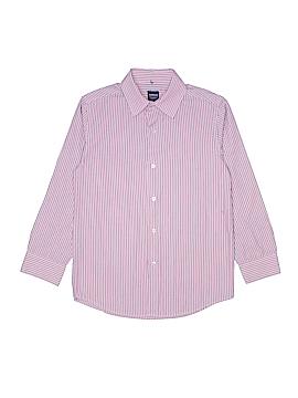 Arrow Long Sleeve Button-Down Shirt Size M (Kids)
