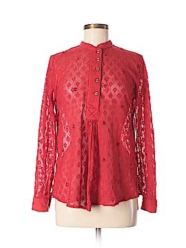 New Romantics Long Sleeve Button-Down Shirt Size XS