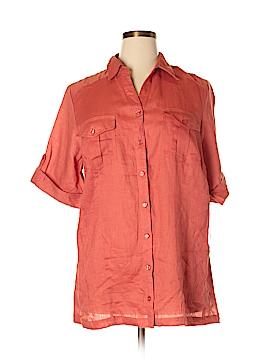 DressBarn 3/4 Sleeve Button-Down Shirt Size 18/20 (Plus)