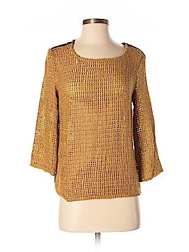 Kelly Wearstler Silk Pullover Sweater Size S
