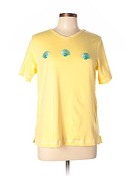 Quacker Factory Short Sleeve T-Shirt Size S