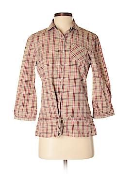 DC* 3/4 Sleeve Button-Down Shirt Size M