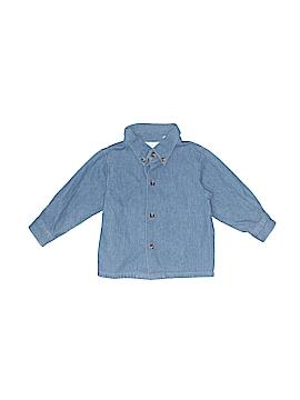 Little Bitty Long Sleeve Button-Down Shirt Size 12 mo
