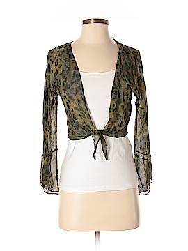 Express 3/4 Sleeve Silk Top Size 5 - 6