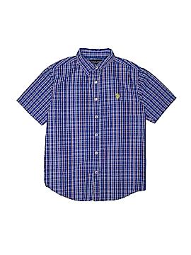 U.S. Polo Assn. Short Sleeve Button-Down Shirt Size 10 - 12