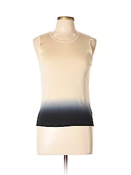 AK Anne Klein Sleeveless Silk Top Size L